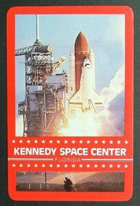 1 x Joker playing card single swap Kennedy Space Center Florida USA AD474