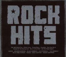 Rock Hits (in metalcase) Queen, Golden Earring, Focus, Black Sabbath, Ike.. [CD]