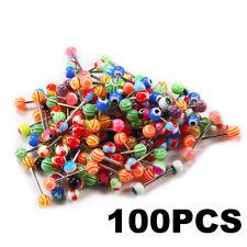 Wholesale Lot Tongue Nipple Rings Body Jewelry Tounge 14g 100 Pcs
