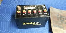 *Nos* Vintage Gm Delco Dc-250 Tar Top Battery. Box Dated 1-11-1973