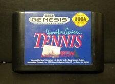 JENNIFER CAPRIATI TENNIS --- SEGA GENESIS --- CART ONLY