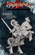 Ejército Imperial Raging héroes Brunhilda con el escudo por guerra Corcel