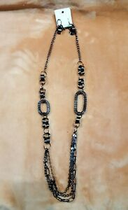 Beatuful Fashion Long  Stainless Steel Necklace with Earrings by EsMor