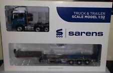 MarGeModels 1:32 Volvo FH16 6x2 Sarens Edition met Nooteboom dieplader nieuw in
