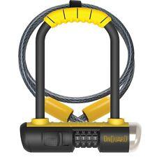 "OnGuard Bulldog Mini DT 8015C Combo Bike U-lock & 4' Cable 3.5x5.5"" Hardened"