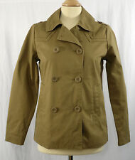Ladies Roxy Smart/Casual Pea Coat/Jacket Sand XS - 6 UK