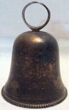 1992 International Silver Co Hand Made Silverplated Bell From India