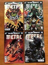 DARK NIGHTS METAL #6  Capullo Daniel Kubert Lee 1st Prints Sold Out DC 2018 NM+