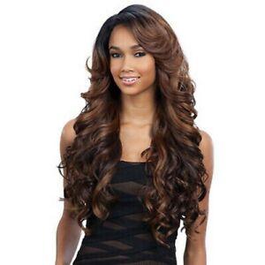 FreeTress Equal Deep invisible L part lace front Wig – KARISSA