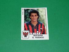 PANINI FOOTBALL FOOT 90 N°247 EL HADDAOUI OGC NICE OGCN NISSA RAY 1989-1990