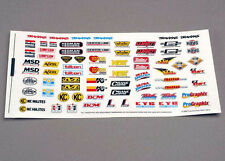 TRA2514 Traxxas Racing Sponsors Decal Sheet