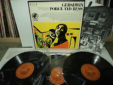 GERSHWIN ~ PORGY AND BESS ODYSSEY 3 RECORD SET DUBOSE HEYWARD ALL 3 RECORDS NM+
