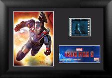 Film Cell Genuine 35mm Framed  Matted Disney Marvel Iron Man 3 Special Edit 6024