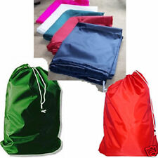 """10  Nylon Laundry Bags 30x40"""" With Draw Cord & Closure"""