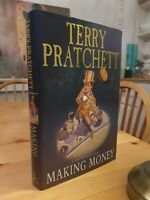 2007 Signed First Edition Terry Pratchett Making Money