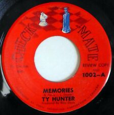 TY HUNTER 45 Memories/Envy of Every Man CHECKMATE northern soul ct2019