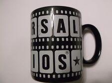 Universal Studios Souvenir Coffee Tea Cocoa Mug~BLACK~11 Oz. Ceramic~Ships FREE