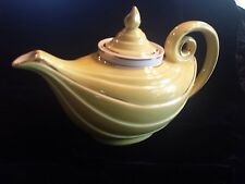 Vintage Hall Canary Yellow 6 Cup Aladdin Teapot With Infuser & Lid