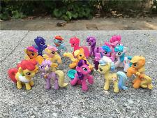 Hasbro My Little Pony MLP 10pcs 4cm Spielzeug Pony Zufällig Neu Ohne Packung