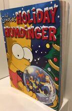 The Simpsons Holiday Humdinger Groening, Matt 0007191707  COMIC BOOK  Free Post