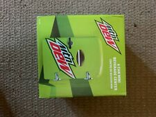 Mountain Dew Drink 6-can Mini Fridge Portable Car Or Home Refrigerator In Hand
