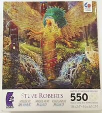 550PC STEVE ROBERTS MYSTICAL SHIMMER UNICORN JIG SAW PUZZLE 550 PIECE USA MADE 7
