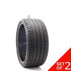 Set Of 2 Used 27530zr20 Michelin Pilot Sport 4 S 97y - 7.5-832