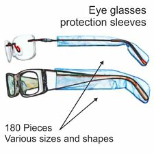 Protect Glasses Spectacles Eyeglasses Arm From Hair Dye Tint. Pack of 180.