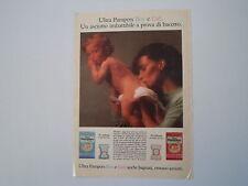 advertising Pubblicità 1990 PANNOLINI ULTRA PAMPERS