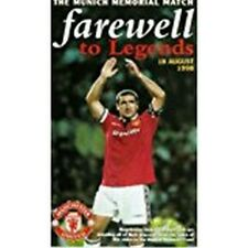 318.   VHS MANCHESTER UNITED FAREWELL TO LEGENDS MUV37