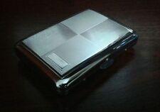 Engraved Silver Design METAL CIGARETTE CASE.....  Holds 16 Cigarettes, cigerette