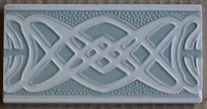 GERMANY- VILLEROY BOCH - ANTIQUE MAJOLICA BORDER TILE C1900