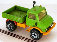 "Siku Unimog Pickup Truck 4x4 Green/Yellow 3.25"" Long Made in W.Germany 1/43"