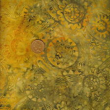 Timeless Treasures Tonga B1552 Topaz Orange Batik 100% Cotton Fat Quarter