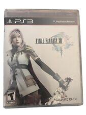 Final Fantasy XIII (Sony PlayStation 3, 2010)