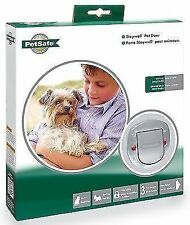 Staywell PetSafe 270e Clear Big Cat Small Dog Pet Door 4 Way Locking