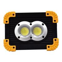 20W 1000lm COB LED Work Light USB Rechargeable Flood Lamp Waterproof Power Bank