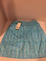 Adidas Golf Women's Skirt Size XSL Teal And White
