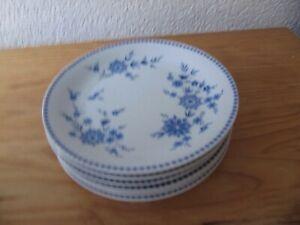 6 Seltmann Weiden Bayrisch Blau Kuchenteller Dessert Frühstücks Teller 19 cm