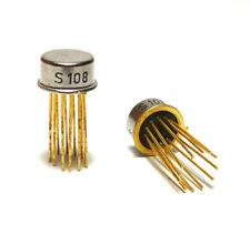 2x Siemens Halbleiter IC S108, 70er Jahre, Funktion unbekannt, NOS