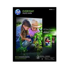 HP Glossy Everyday Photo Paper, 25 Sheets, 8.5 x 11 inches