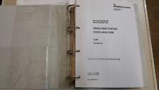 Rohde & Schwarz UAF Video Analyzer Handbuch