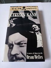 Citizen Kane - Vhs 1941 - Orson Welles - Tcm Turner Classic Movies