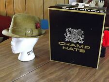 Vintage Sportswear by Champ Fedora size 7  (NEW CONDITION)