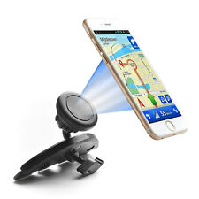 360º Magnetic Car Mount Holder Slot Cradle for iPhone Cell Phone GPS Universal