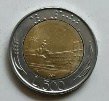 1984 Italy L.500 Lira Coin Italiana Europe