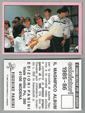 FIGURINA CALCIATORI PANINI 1985/86 - NUOVA/NEW N.316 LA GAZZETTA - L'AUTOGRAFO