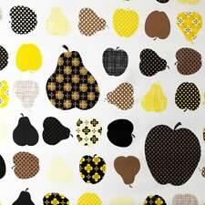 Klebefolie - Möbelfolie Äpfel und Birnen gelb -  45 cm x 200 cm Dekorfolie Folie