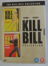 DVD- Kill Bill Vol.1/Kill Bill Vol.2 (DVD, 2005, 2-Disc Set, Box Set) New/Sealed