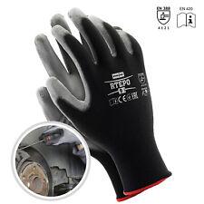 Arbeitshandschuhe SPAR-PAKET 24 PAAR Montagehandschuhe Handschuhe PU Gr. 7-10